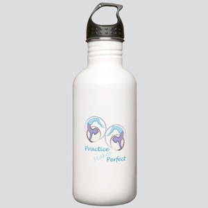 Practice Makes Perfect Water Bottle