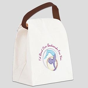 Bend Backwards Canvas Lunch Bag