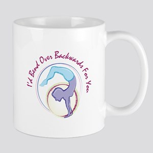 Bend Backwards Mugs