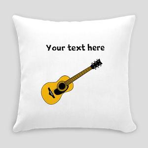 Customizable Guitar Everyday Pillow