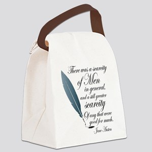 Austen Agreeable People Canvas Lunch Bag