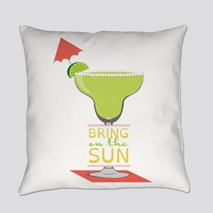 Bring On The Sun Everyday Pillow