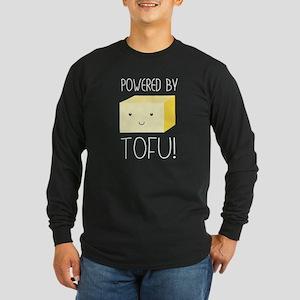 Powered by tofu! Long Sleeve T-Shirt