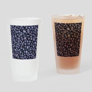 BLUEBERRIES 3 Drinking Glass