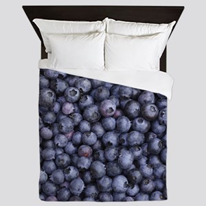 BLUEBERRIES 3 Queen Duvet