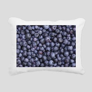 BLUEBERRIES 3 Rectangular Canvas Pillow