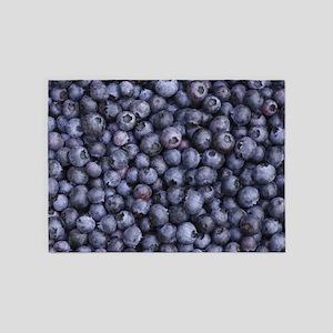 BLUEBERRIES 3 5'x7'Area Rug