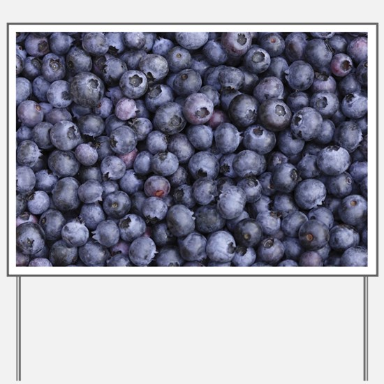 BLUEBERRIES 3 Yard Sign