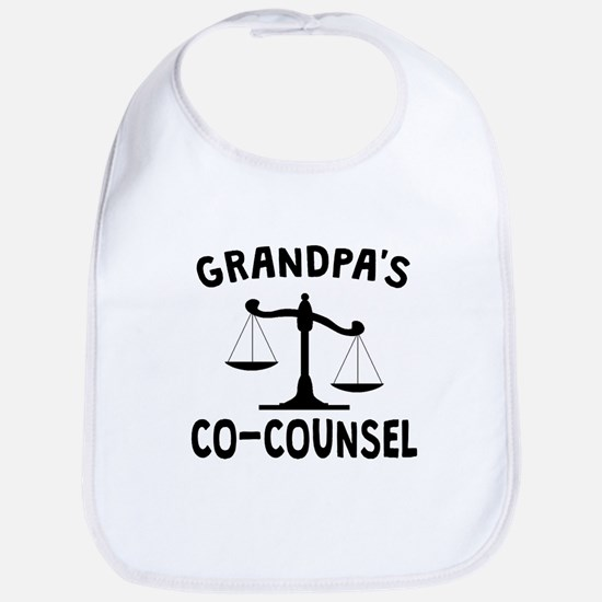 Grandpas Co-Counsel Bib