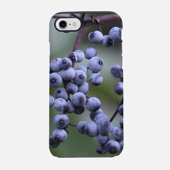 BLUEBERRIES 2 iPhone 8/7 Tough Case