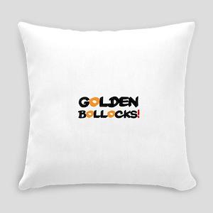 GOLDEN BOLLOCKS!- Everyday Pillow