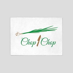 Chop Onions 5'x7'Area Rug