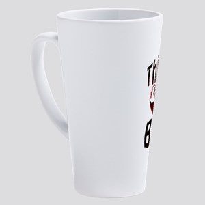This Guy Loves BBW 17 oz Latte Mug