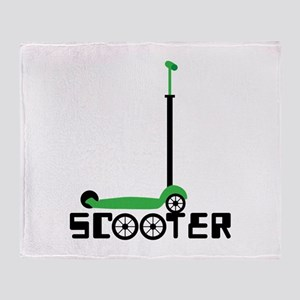 SCOOTER Throw Blanket
