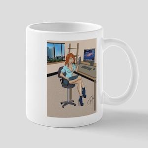 Sexy secretary Pinup Mugs