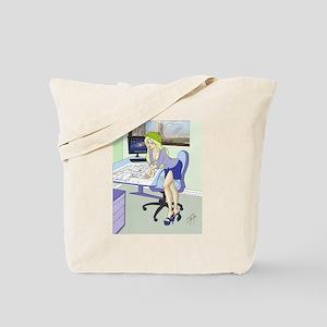Sexy architect Pinups Tote Bag