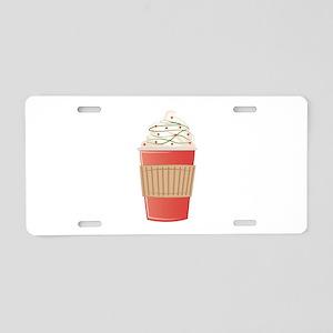 Mint Cocoa Aluminum License Plate