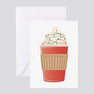 Mint Cocoa Greeting Cards