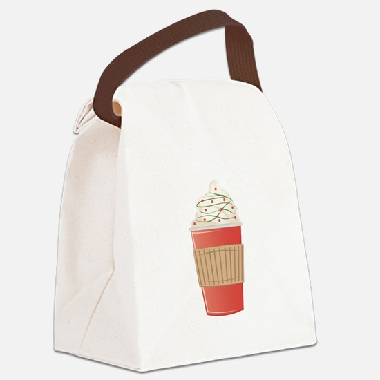 Mint Cocoa Canvas Lunch Bag
