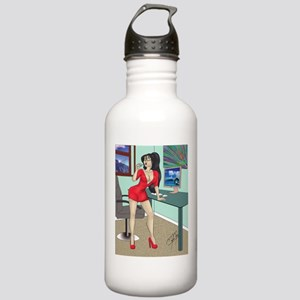 Sexy clerk pinup Stainless Water Bottle 1.0L