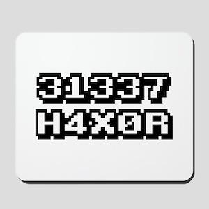 31337 H4X0R Mousepad