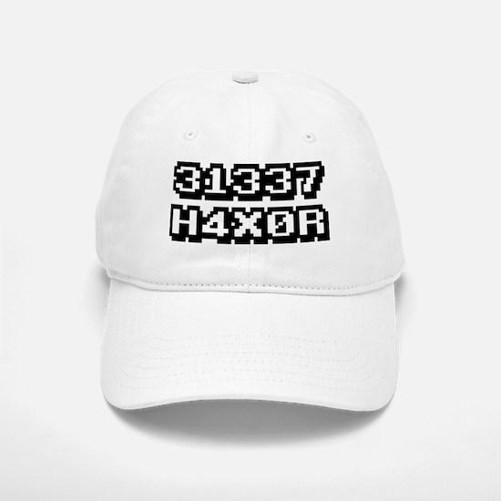 31337 H4X0R Baseball Baseball Cap