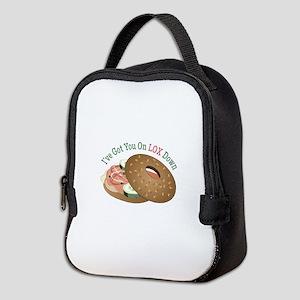 On Lox Down Neoprene Lunch Bag
