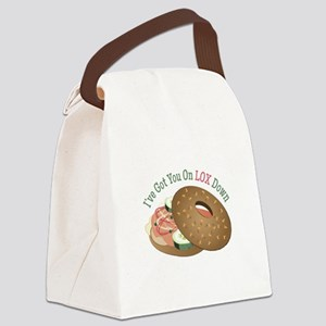 On Lox Down Canvas Lunch Bag