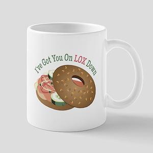On Lox Down Mugs