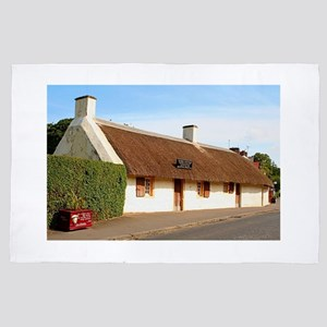 Robert Burns cottage, Alloway, Scotlan 4' x 6' Rug