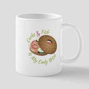 Carbs & Fish Mugs