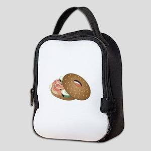 Bagel Neoprene Lunch Bag