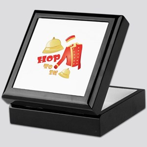 Hop To It Keepsake Box