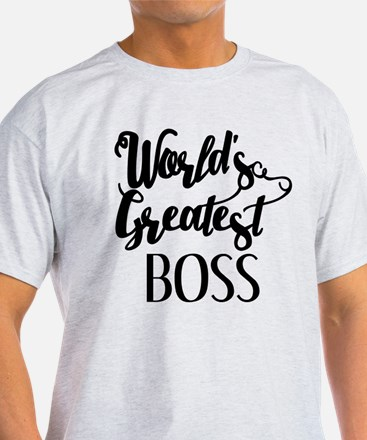 World's Greatest Boss T-Shirt