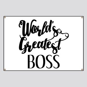 World's Greatest Boss Banner