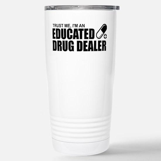 Pharmacist Stainless Steel Travel Mug