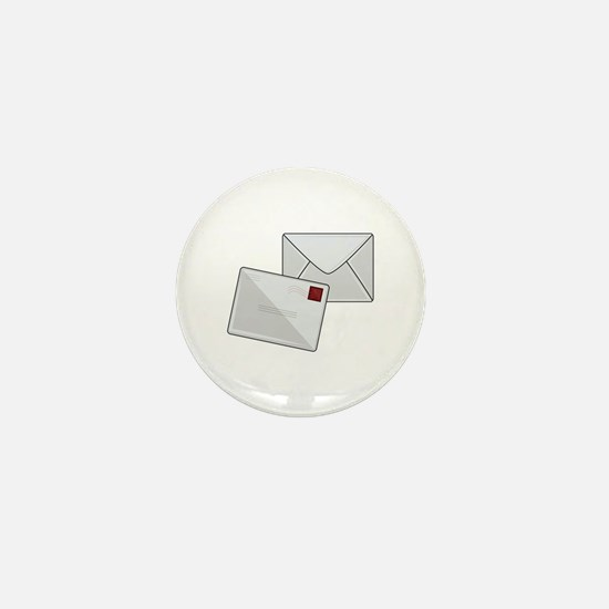 Letter & Envelope Mini Button