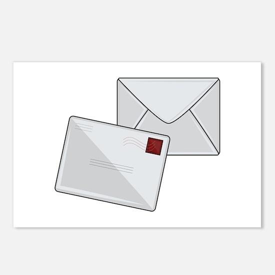 Letter & Envelope Postcards (Package of 8)