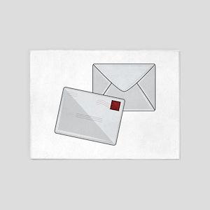 Letter & Envelope 5'x7'Area Rug