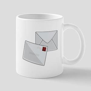 Letter & Envelope Mugs