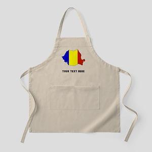 Romanian Flag Silhouette (Custom) Apron