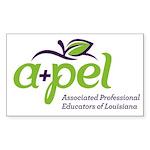 APEL Logo 1 Sticker