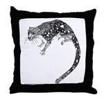 Spot Tailed Quoll Throw Pillow