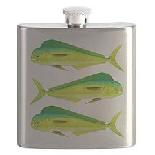 Mahi-Mahi Dolphinfish 3 Flask