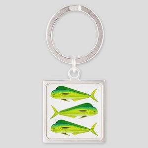 Mahi-Mahi Dolphinfish 3 Keychains