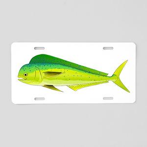 Mahi-Mahi Dolphinfish 3 Aluminum License Plate