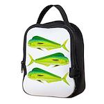Mahi-Mahi Dolphinfish 3 Neoprene Lunch Bag