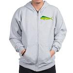 Mahi-Mahi Dolphinfish 3 Zip Hoodie