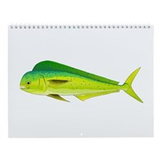 Florida Keys Fishing Targets X Wall Calendar
