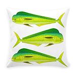 Mahi-Mahi Dolphinfish 3 Everyday Pillow